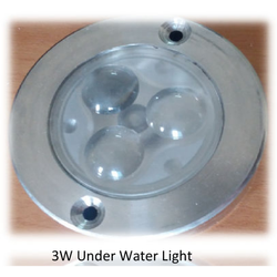 3W LED Underwater Light