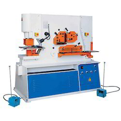 Double Cylinder Iron Worker Machine