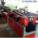PE Single Wall Corrugated Pipe Extrusion Machine