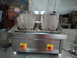 SS Deep Fat Fryer - Twin Tub - Electrical Operated