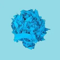 Turquoise Blue Cotton Clips