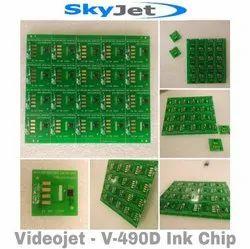 SkyJet - Videojet - V-490D Ink Chip