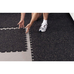 Interlock Soft Rubber Flooring