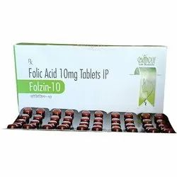 Folzin -10 ( Folic Acid 10 mg )