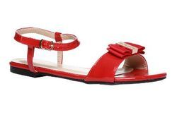 Marie Claire Red Women Sandals