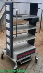 Laproscopic Monitor Trolley