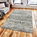 Handmade Cut Pile Wool Viscose Area Rug and Carpet