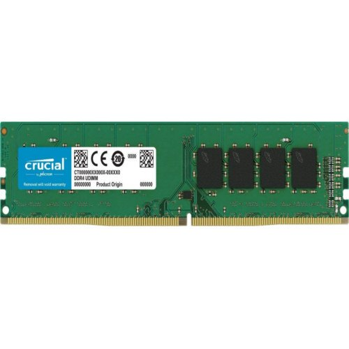 Crucial 16 GB CT16G4DFS824A DESKTOP DDR4, Udimm, Voltage: 1.2 V