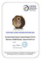 Secondary & Higher Education Resource Equipment Supplier of the Year 2018