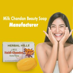 Milk Haldi-Chandan Herbal Beauty Soap - 100 gms