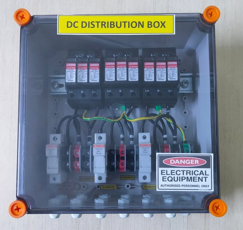 SOLAR DCDB Box 3 IN 3 Out 3 SPD 1000 VDC For 11-16 KW