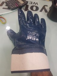 Nitrile Full Deep Hand Gloves Cuff Type