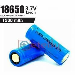 Li-ion Battery Cell 1500 mAh 18650