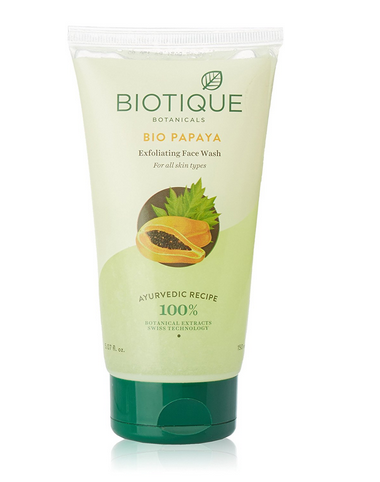 38028c69c4 Biotique Bio Papaya Exfoliating Face Wash For All Skin Types at Rs ...