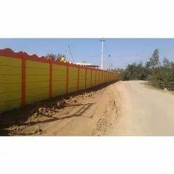 75 mm Precast Boundary Wall