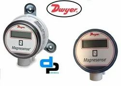 Dwyer MS 151 LCD Magnesense Differential Pressure Transmitter