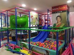 Toddler Indoor Soft Play Station