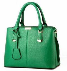 Plain PU Leather Ladies Hand Bag