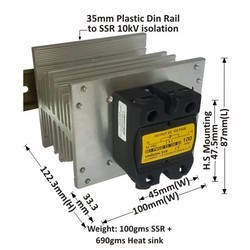 100 AMP DC TO DC SOLID STATE RELAY