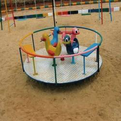 Children Playground Roundabout