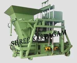 Automatic Hopper Type Concrete Block Making Machine, Sk 860 Af