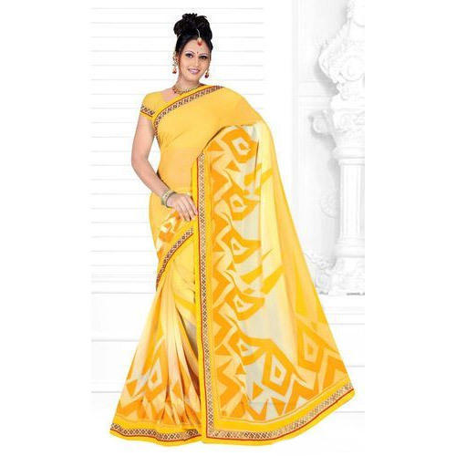 adffe8f305cf1 Ladies Lace Border Saree at Rs 475  piece