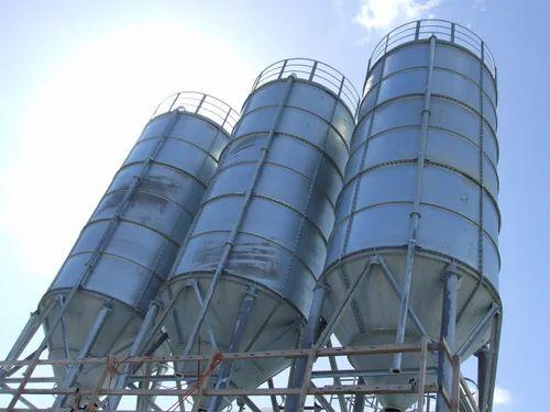 Mild Steel Cement Silo