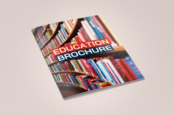 Art Paper Educational Brochure, Home Delivery, Dimension / Size: A4