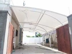Entrance Canopy Tensile Fabric Structure