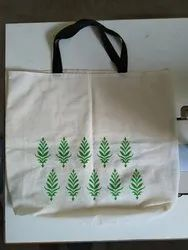 Printed Cotton Bag, Size: 15*16inch