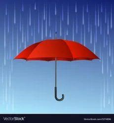 黑色聚酯雨伞厂家,尺寸:26x12