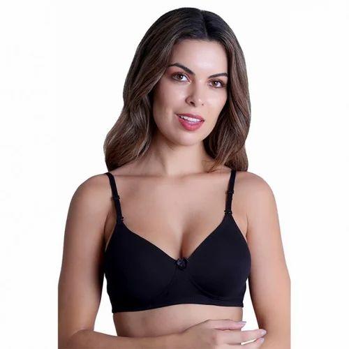 db2da6fa50 Ladies Black T Shirt Bra