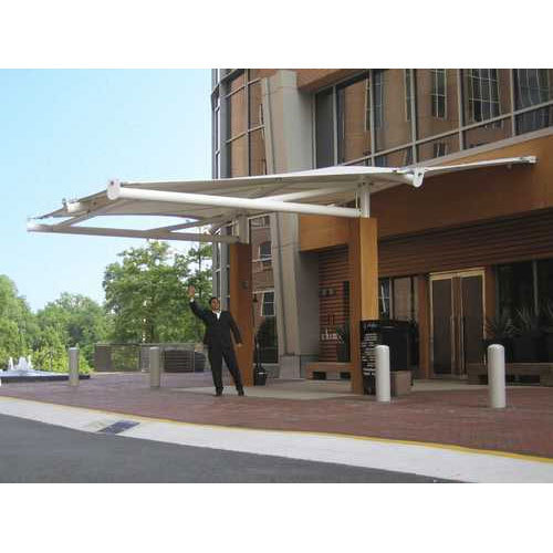 Pvc Entrance Canopy Structure Rs 400 Square Feet