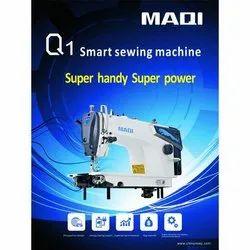 Maqi Q1 Smart Sewing Machine, Max Sewing Speed: 2000-3000 (stitch/min), Direct Drive