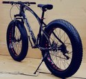 Mercedes Benz Black Fat Tyre Cycle