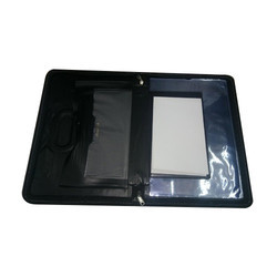 Black Document File Folder