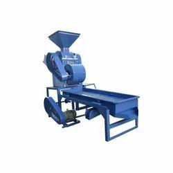Iron Groundnut Decorticator Grader Machine