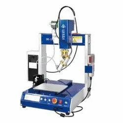Five Axis Soldering Machine With For 0.4-0.8mm Wire Tin