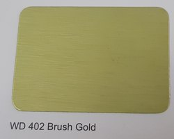 Wd-402 Brush Gold ACP Sheets