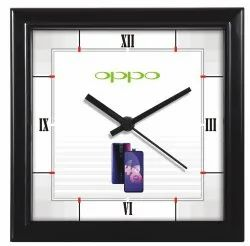 Customised Plastic Square Wall Clock