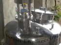 Mattfinish Or Polishfinish Stainless Steel Pressure Vessel With Agitator, Material Grade: Ss304-ss316-ms2062