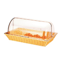 Poly Baskets With Rolltop Cover Rect