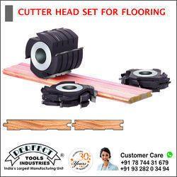 CUTTER HEAD SET FOR FLOORING