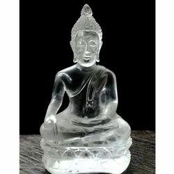 Crystel Buddha Showpiece, For Decoration