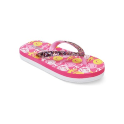 Kids Fuchsia Flip Flops
