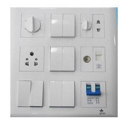 Polycarbonate Electrical Socket Switch