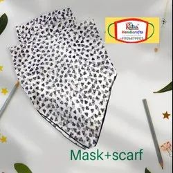 Fancy Mask Scarf for face safety