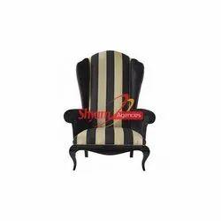 Shyam Agencies Modern Wedding Black Sofa Chair