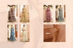 Zubeda Ranzna Series 15301-15306 Stylish Party Wear Satin Suit