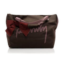 Printed Taffeta Fabric Bag